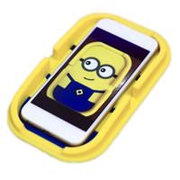 automotive silicone - Despicable Me Cartoon Magic Car Phone Holder For Phones Navigation Automotive silicone place mat Car Anti slip Mat