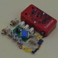 Wholesale DIY Distortion Guitar Effect Pedal Dragon Roar Distortion Guitar Pedal DS Red Suite