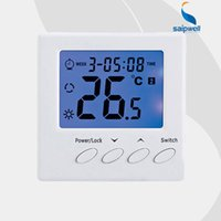 Wholesale Saipwell Blue Backlight Weekly Programmable LCD Display Room Temperature Controller Digital Floor Heating Thermostat SPC01 H3