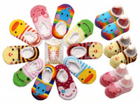 baby shoe tights - chevron tights Baby Childrens Socks Slippers Anti Non slip Cute baby socks shoes and drop shipping