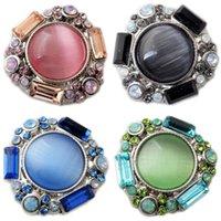 Wholesale D02235 Rivca button for noosa bracelet noosa snaps copper button noosa chunk