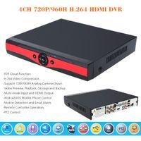 Wholesale 4CH P H H HDMI CCTV DVR Security Camera Surveillance Video Recorder Standalone Motion Detection PTZ Control