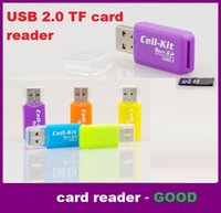Cheap USB 2.0 Micro SD T-Flash TF M2 Memory Card Reader Grade A Quality High Speed Adapter for 2gb 4gb 8gb 16gb 32gb 64gb 128gb TF Micro SD Card