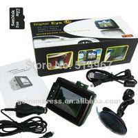 audio parking sensor - 2 quot TFT LCD Digital DVR Audio Video Car Vehicle Monitor Black Box Camera Recording USB G SD memory card M36587