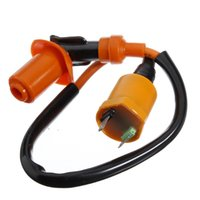 Wholesale Ignition Coil For Spark Plug Wire Scooter GY6 cc Go Kart ATV Dirt Pit Bike order lt no tracking