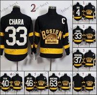 blank hockey jerseys - Boston Bruins Bobby Orr zdeno chara blank Hockey Jerseys Best quality ICE Winter Jersey Embroidery Logo Size M XL Mix Order