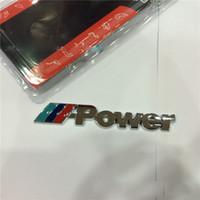 Wholesale NEW Logo BMW M POWER M3 M5 Car Emblem DECAL