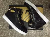 pvc snake leather - Nike dan Retro Black Snake Gold S Basketball Shoes AJ Retro Shoes