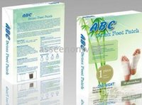 Wholesale Drop Shipping abc detox foot patch per box