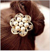 big hair flowers - BJWD12 Fashion charming big flower hair band hair clip hair jewelry