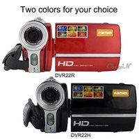 Wholesale 16X Zoom Mp Pexel Inch LCD Screen P Hd Camera Video Camera Filmadora Camcorder Digital Camera With MP CMOS DVR22H order lt no