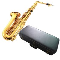 alto sax cases - Hot SALE France flat sax alto saxophone R54 Alto E Flat musical instruments professional E Leather case