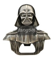 glass soda bottle - New Hot Sale Convenient star wars Darth Vader Bar Beer Soda Glass Cap Bottle Opener Kitchen Tool Best Quality