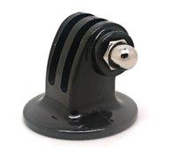 Wholesale GP03 Go Pro Accessories Mini Monopod Tripod Holder Case Mount Adapter for GoPro HD Hero SJ4000 Camera Black Edition