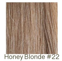 """Cheap HUMAN HAIR EXTENSIONS COLOR: SUNNY HONEY BLONDE (#22) FLAT TIPS (U-TIPS) BODY WAVE 16"""" 20"""" 24"""" 1G STRAND INDIAN REMY HAIR 100STRANDS LOT"""
