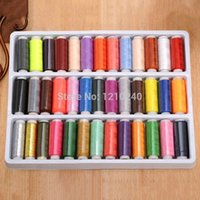 Wholesale 1 Box Color Polyester Sewing Thread High Quality Hand sewn Craft Hot Selling Apparel Craft Sewing Notions Tools
