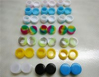 Wholesale 200 x Silicone Concentrate Container Nonstick ML Food Safe Slick Honey Jar everyday storage stackable