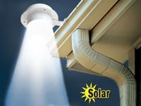 achat en gros de lampe de jardin clôture solaire-Extérieur solaire 3LED évier lumière lumière solaire clôture légère lumières couloir lampe lampe de mur Lumière Détection de mouvement Chemin Jardin Yard lumière ledstar