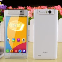 Wholesale X BO V5 MTK6572 Dual Core Android WCDMA Smart Phone w quot Capacitive Screen GB ROM Rotational MP Camera White Silver
