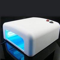 uv gel nail kit with light - CoastCloud Nail Dryer Light WHITE PINK W UV Nail Lamp Light ART Gel Dryer with Timer Bulbs Beauty Kits