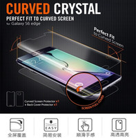 anti shock body - Ultra Durable Anti Shock Tempered Glass Protective Film For Samsung Galaxy S6 Edge G9250 Protective Film