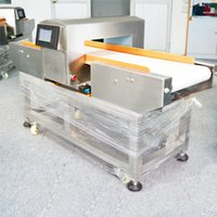 Wholesale Digital conveyor belt metal detector for food processing industry with rejector system