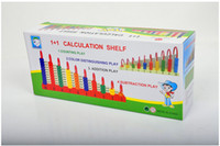 abacus teaching - Color wooden abacus Educational Toys Math Toys Teaching props Birthday present study supplies