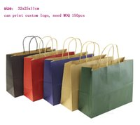 Wholesale Eco friendly high quality shopping paper bag size x25x11cm