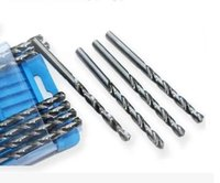 Wholesale 3 Titanium Coated HSS Drill Bits Hex Shank Power tools Accessories High quality drill