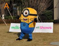 Cattivissimo Me Minion cartoni animati del costume della mascotte Minion costumi pubblicità scuola Costume mascotte animale, una varietà di stili