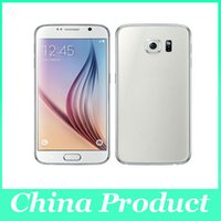 Wholesale 5 quot S6 G9200 MTK6572 dual core smartphone Android M G can show G G GPS WIFI G unlocked phone show G LTE