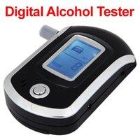 Wholesale Hotsale Densimetro Brew For Police Breathalyzer Digital Lcd Alcohol Breath Tester Analyzer