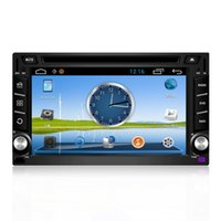 mp3 mp4 touchscreen - Car Navigation quot Double DIN Capacitive Touchscreen LCD Monitor with DVD CD MP3 MP4 USB SD AMFM RDS Bluetooth and GPS
