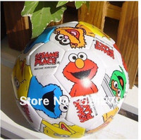 Wholesale Sesame Street Elmo toy balls Elmo Friends Outdoor kid s soft paly ball filled with cotton