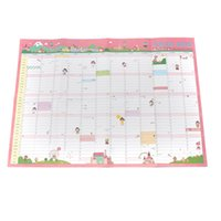 Wholesale Hello Cute Wall Planning Calendar Daily Scheduler Planner Table Yearly Agenda Organizer Planners Helpful