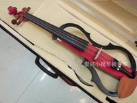Wholesale New Silent electric violin playing level super high end sound quality imported pickups