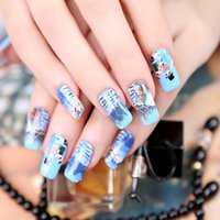 beauty lovers - Winter Lovers Paint Art Nail Sticker style Nail Decals Summer style makeup polish beauty tools French manicure