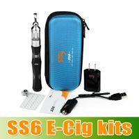 ecig - Christmas GFift Smy ecig ss6 starter kit V mAh variable voltage e cigarette adjust voltage SS6 e cig DHL Free Churchill