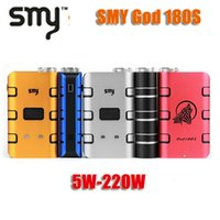 used pcs - 100 Original SMY God S Box mod w w Variable Wattage mod use batteries VS Sigelei W Plus Cloupor T8 w mod