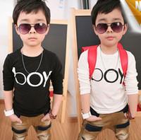 Cheap Boy Childrens clothes Best Spring / Autumn Standard long sleeve T shirt
