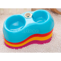 Wholesale New Pet Dog Puppy Cat Automatic Water Dispenser Drink Food Dish Feeding Bowl