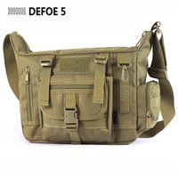 Wholesale School Bag Carrier - Wholesale-Large Men A4 14 Inch Laptop Shoulder School Bag Ultra-light Hunting Range Soldier Ultimate Stealth Heavy Duty Carrier