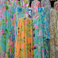 Wholesale Spring new chiffon fabric cloth material shall surprise price feedback