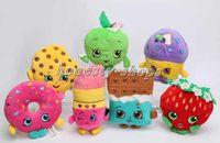 apple brand store - Brand new Store toys plush toys Kookie Cookie Strawberry Kiss Apple Mini Muffin doughnut lipsticks Stuffed Plush doll Toys
