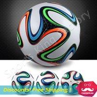 2014 WORLD CUP FINAL BRAZUCA partido de fútbol BOLA TAMAÑO balón de fútbol 5 Brasil NUEVO Top Velero Partido Pelota Brasil