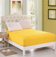 Wholesale new cotton solid color bedspread more color more More specifications Bed Cover Fitted Sheet