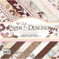 bathroom designer paper - 8 quot x quot PAPER DESIGNER Elegant Scrapbook Paper Book for Cardmaking Patterned Paper Craft Supplies for sale designs sheets