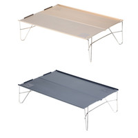 Wholesale Firemaple Lightweight Outdoor Tables Compact Aluminum Alloy Foldable Table for Outdoor Picnic Camping