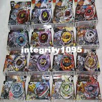 beyblade starter - 16 different style BEYBLADE METAL FUSION FIGHT STARTER BEYBLADE SPIN TOP TOY BEYBLADES MIX ALL MODEL
