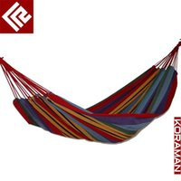 Cheap free shipping indoor and outdoor casual supplies single thickening canvas hammock swing lashing bag